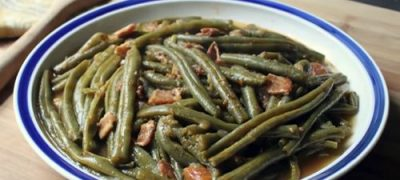 How to Make Slow-Cooked Green Beans