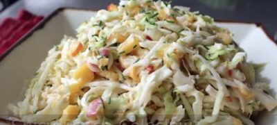 How to Make Spicy Peach Coleslaw Recipe