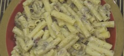 How_to_make_Creamy_Garlic_Mushroom_Pasta