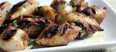 How to make Grilled Stuffed Calamari