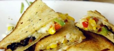 How to make Pizza Sandwich