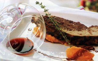 Pulpa de porc in sos de vin
