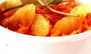 Salată de portocale cu dovleac