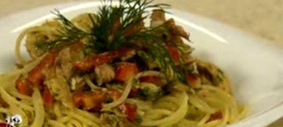 Salata de paste cu carne de vita