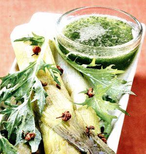 Salata de praz cu avocado