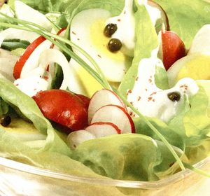 Salata simpla de oua