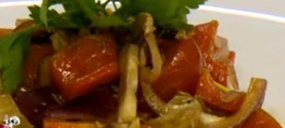Salata_de_rosii_cu_ciuperci_proaspete