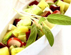 Salata de cartofi italieneasca