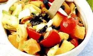 Salate: salata orientala