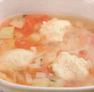 Supa de galuste cu gris