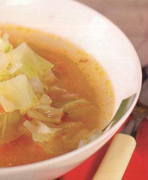 Supa de varza dulce cu smantana