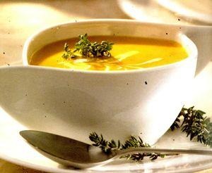 Supa deasa de morcovi(crema)