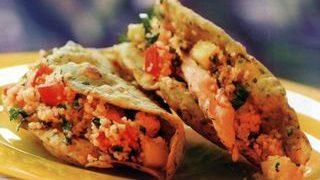 Tacos de pui si cuscus