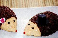 Arici din biscuiti