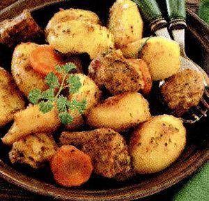 Cartofi cu carne de vacă