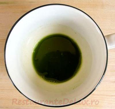 Budinca cu ceai verde