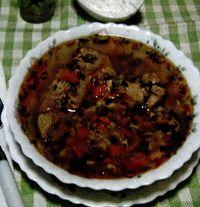 Ciorba de pui cu tarhon