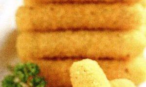 Crochete din mamaliga cu ciuperci