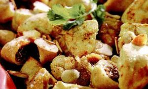Pui cu orez si curry
