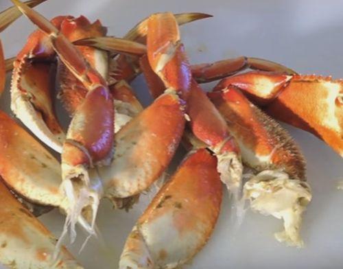 Minirulouri cu crab şi cu legume