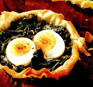 Minitarte cu ou