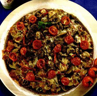 Pizza marmorata