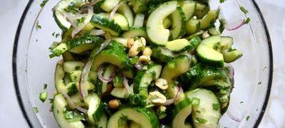Salata de castraveti si fistic