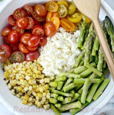 Salata de legume cu carne