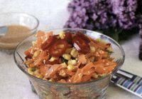 Salata de morcovi, porumb si susan