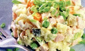Salata ruseasca cu oua
