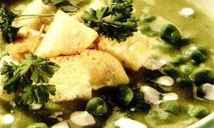 Supă de mazăre cu cartofi