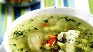 Supa cu crutoane picante