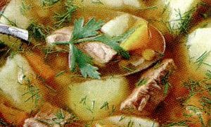 Supă rusească de vită