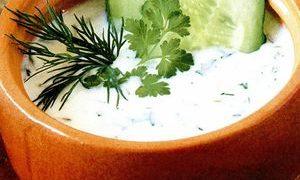 Supa rece cu iaurt