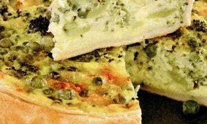 Tarta cu broccoli si ardei