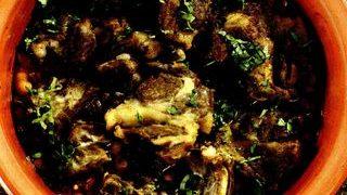 Tocanita marocana din carne de miel