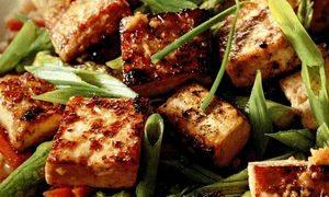 Tofu cu sos de soia