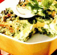 Budincă de fasole verde