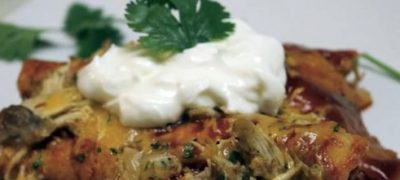 How to Make Chicken Enchilada