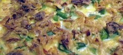 How to Make Four Cheese Green Bean Casserole