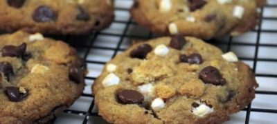 How to Make S'more Chocolate Chip Cookies