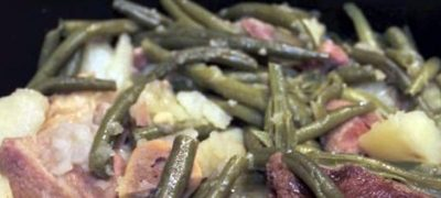 How to Make Southern Green Beans and Potatoes