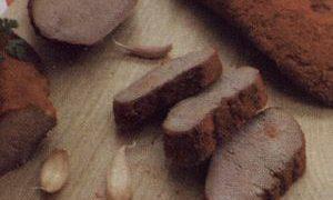 Limba de porc cu masline
