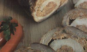 Rulada de porc cu orez