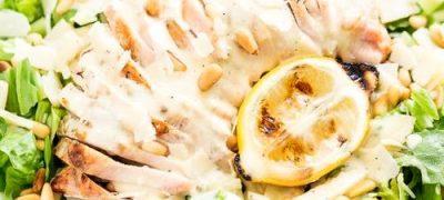Salata de pui cu sos de peste