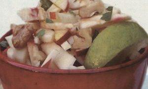 Salata cu telina si ciuperci
