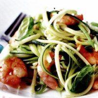 Spaghete_cu_creveti_si_dovlecel