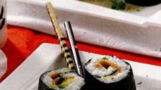 Sushi cu wasabi