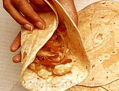 Tortilla spaniolă cu ardei gras