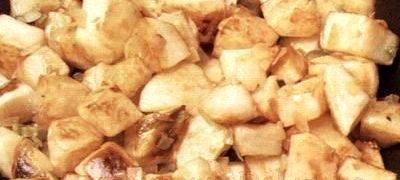 Cartofi cu slanina afumata